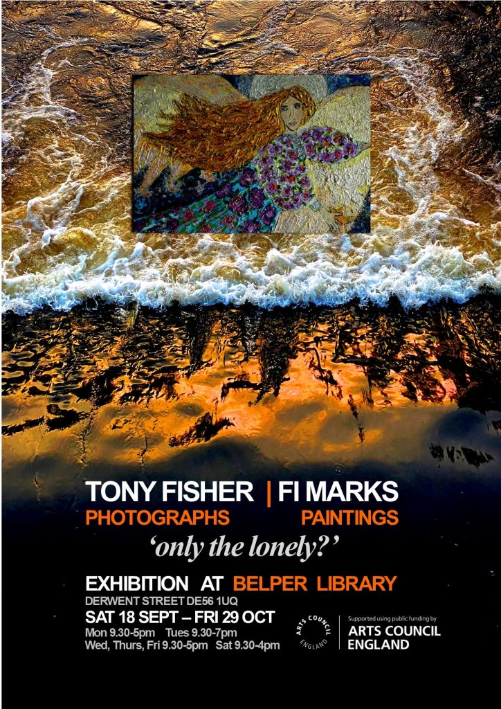 Exhibition at Belper Library - 18 Sep - 29 Oct.